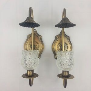 2 Vintage Homco Home Interiors Wall Sconces